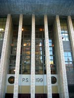 P.S. 199 entrance