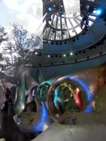 The magical SeaGlass Carousel at The Battery