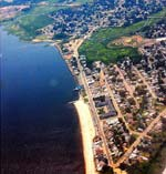 Union Beach, NJ, is located on the southern edge of Raritan Bay, across from Staten Island, NY.