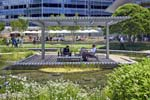 Cox Communications' Cox CTech Pavilion, Atlanta, Georgia: Terraces and gardens bring nature to work.