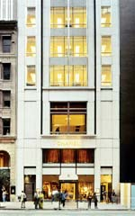 Chanel 57th Street, as originally designed by Platt Byard Dovell: The fashion house's flagship in New York City honors the Classical tradition while being indisputably contemporary; it also honors the street.