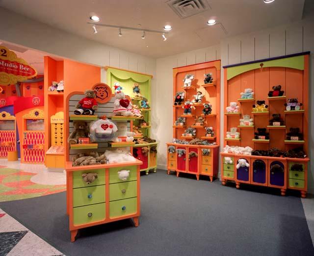 مخطط محل العاب تصميم لمحلات اللعب  مخطط تصميم محل لأطفال Design shop