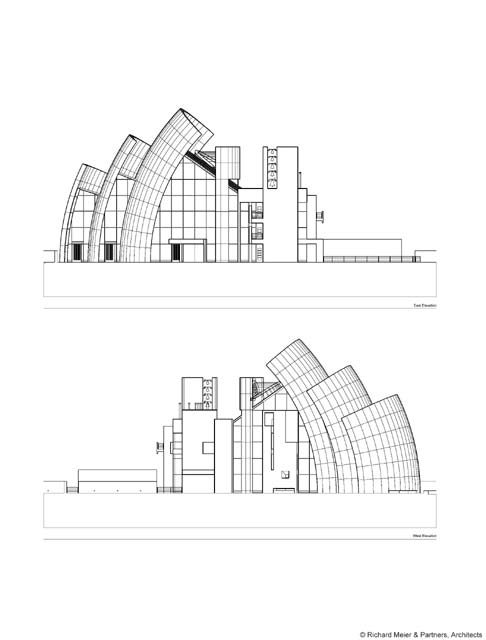 Church Auditorium Drawings Elevations