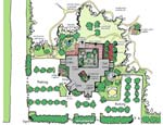This Healing Environments map highlights the potential types of healing environments that can be incorporated into any campus.