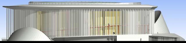 Concert Hall elevation