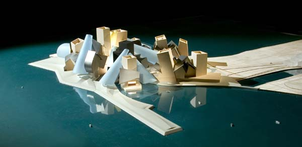 New Abu Dhabi branch of Guggenheim Museum by Frank O Gehry
