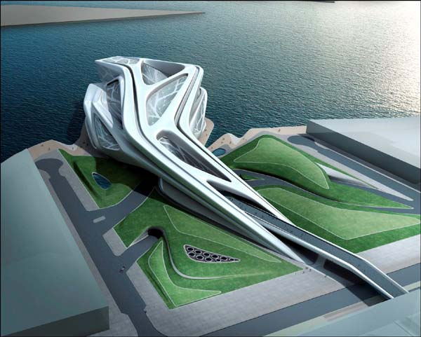 Performing Arts Center by Zaha Hadid