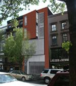 Lindsay Newman Architecture and Design: 116 Montague Street, Brooklyn Heights, NY &ndash; modular intervention