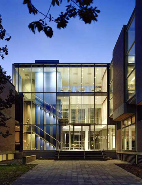 Amazing (click On Pictures To Enlarge). (Paul Warchol). Princeton University School  Of Architecture Addition Amazing Design